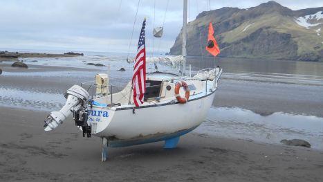 Rimas Meleshyus's boat the